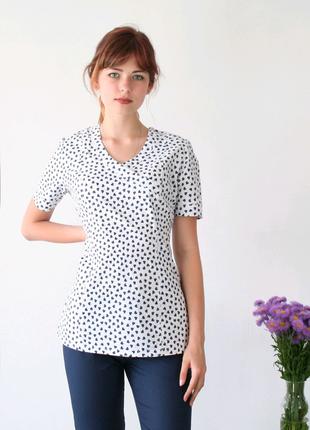 Костюм медицинский 42 размер, с принтом, блуза