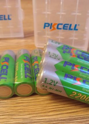 Акамулятори АА Pkcell 1.2v 2200mAh батарейки