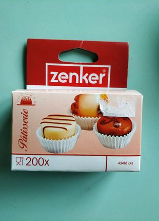 Zenker бумажные формы для выпечки