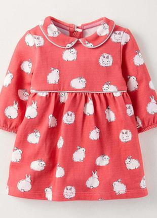 Платье с кроликами