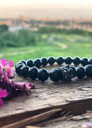 Невероятно красивый браслет из натуральных камней