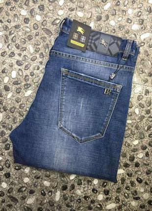 Летние мужские джинсы burberry