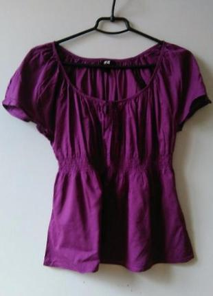 Хлопковая блузка -  - h&m