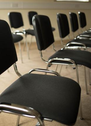 Аренда офисных мягких стульев изо, прокат мебели