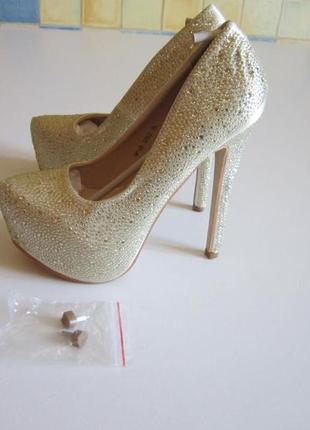 Туфли  белые свадебные -jumex- германия