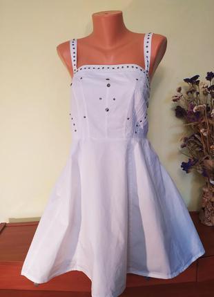 Красивое короткое летнее платье