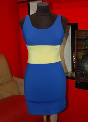 Продам фирменное лёгкое обтягивающее платье-футляр, сарафан новое