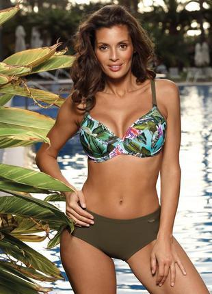 Hanna m-613 marko раздельный купальник на большую грудь завыше...