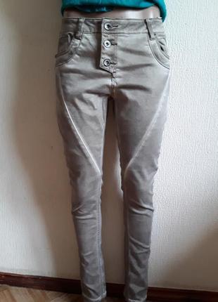 Стильные летние джинсы варенки скини