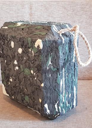 Мишень изолон мини-щит куб для стрел лука арбалета