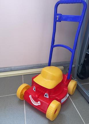 Детская игрушка-каталка «газонокосилка кепка» maximus