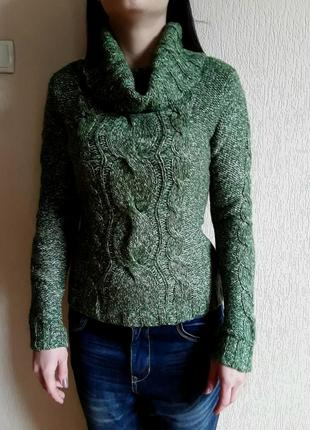 Шерстяной свитер    montego