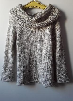 Шерстяной свитер крупной вязкой  per una