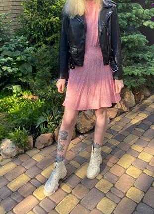 Платье тренд 2020 цветочный принт Zara Bershka Pull & Bear