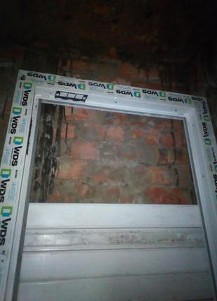 Двері металопластикові (стулка)