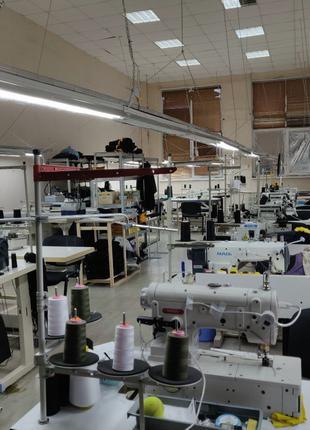 Услуги швейного цеха, пошива одежды