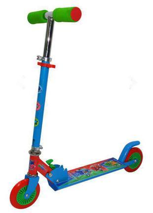 Детский самокат 3 -8 лет PJ MASKS