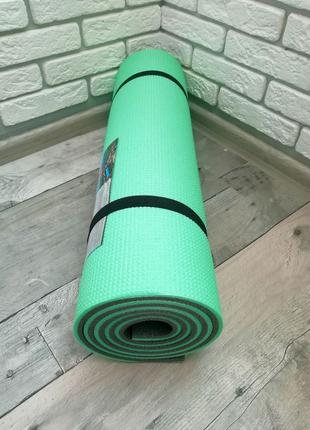 Коврик для спорта 12 мм(каремат для фитнеса, йоги, танцев)