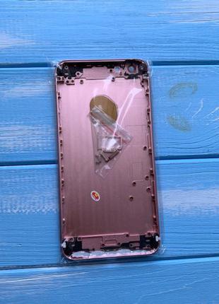 Корпус Apple iPhone 6S Plus Rose Gold Рожевий