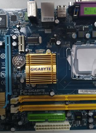 Материнская плата Gigabyte GA-G31M-ES2L (сокет 775, G31, Intel vi