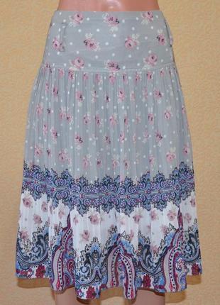 Нежная плиссированная юбка seeline. размер 44