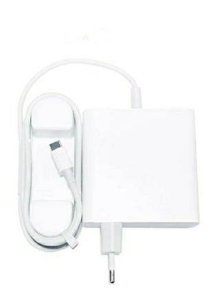 Зарядное Xiaomi Mi 65W Laptop Charger type c MacBook Pro Air блок