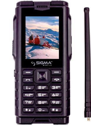 Мобильный телефон Sigma X-treme DZ68 Black. Гарантия