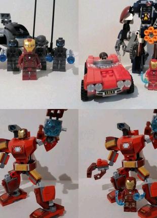 LEGO (Лего) Marvel, Super Heroes, DC, Indiana Jones, Hidden Side