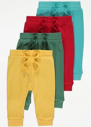 Тонкие летние  штаны george 9-12, 12-18 мес