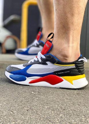 Мужские кроссовки в стиле Puma
