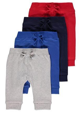 Тонкие , летние штаны george 9-12-18 мес.