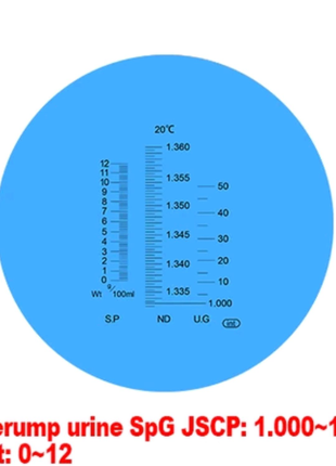 Рефрактометр измеритель мочи белка человека