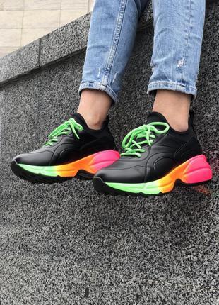 Кроссовки женские rainbow