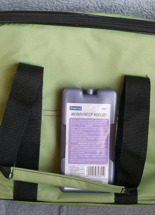 Термосумка, сумка-холодильник с аккумулятором холода в комплекте