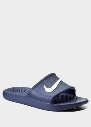 Тапки nike kawa shower midnight navy оригинал