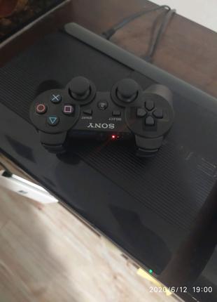Sony Playstation 3 Super Sllim с играми