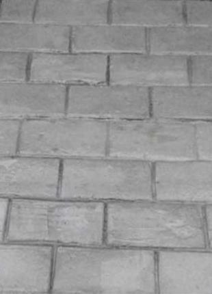 """Форма для тротуарной плитки """"клинкерный камень"""" 40х60см Садовая"""