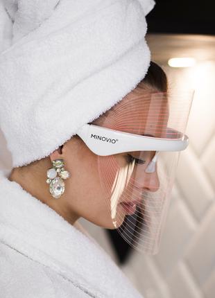 Инновационная LED маска для светотерапии Minovio