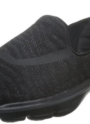 Мокасины кроссовки слипоны skechers go walk 3 goga plus