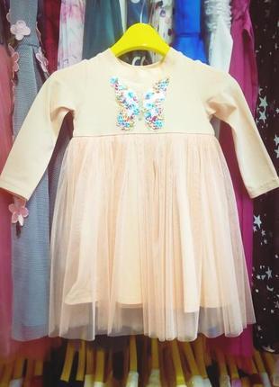 Платье для девочки  zironka рост 80, 86