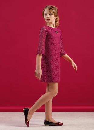 Платье для девочки  zironka рост 134, 140 зиронька
