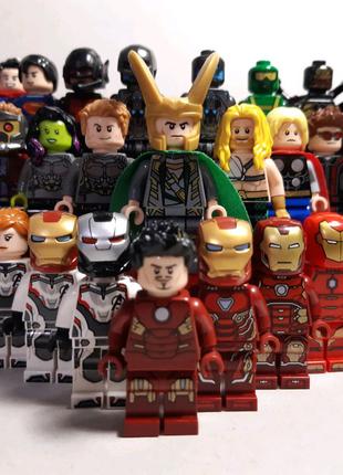 Lego (Лего) мини фигурка Marvel Avengers, Super Heroes, DC - ОРИГ