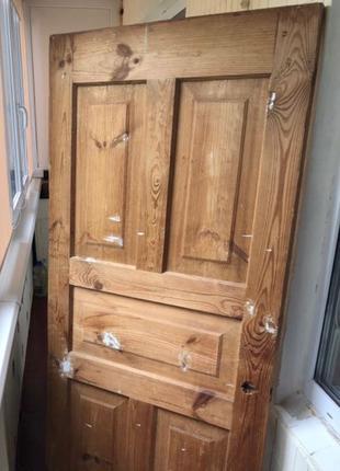 Межкомнатная / входная деревянная дверь / полотно дверное из дере