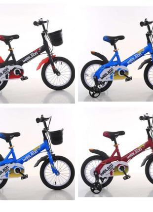 """Велосипед TopRider модель 876 16"""" дюймов детский двухколесный"""