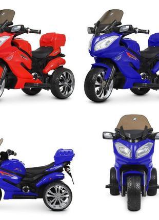 Мотоцикл на аккумуляторе M 4204EBLR, 2 мотора 25W, с пультом