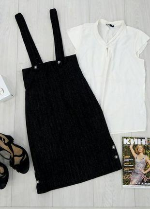 🔥 обвал цен🔥актуальная юбка миди с высокой талией/блуза к ней ...