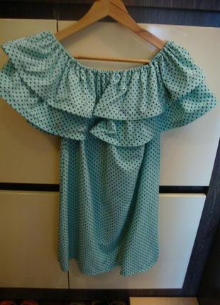 Платье, сарафан летнее с воланом