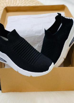 Снова в наличии ❤️ код 1454 крутые кроссовки. цвет- черный мат...