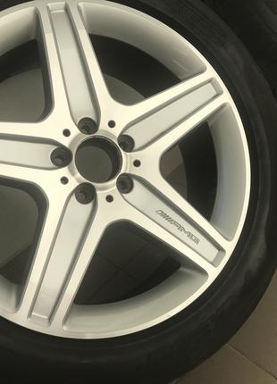 Литые диски AMG R19 + Резина летняя от GLK 350