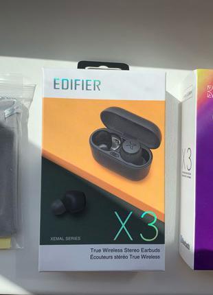 Беспроводные наушники Edifier X3 Limited Edition. Bluetoth 5.0